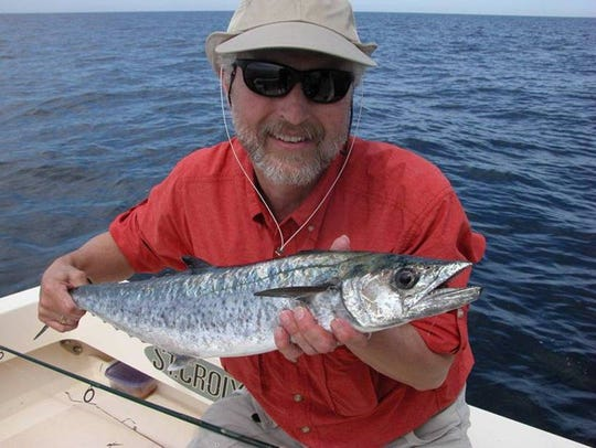 King mackerel caught on Barnegat Ridge.
