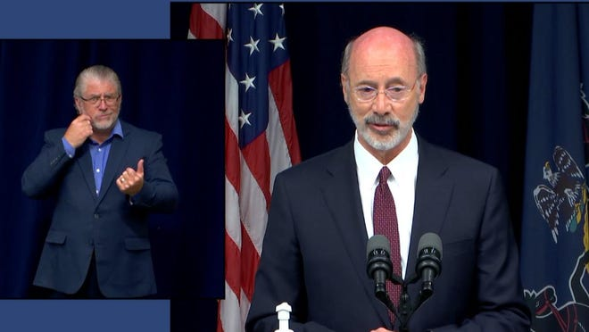 Gov. Tom Wolf discusses strategies to reform law enforcement in Pennsylvania in the wake of George Floyd's death by suffocation.