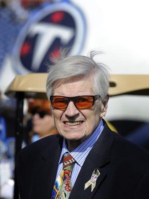Former Titans owner Bud Adams