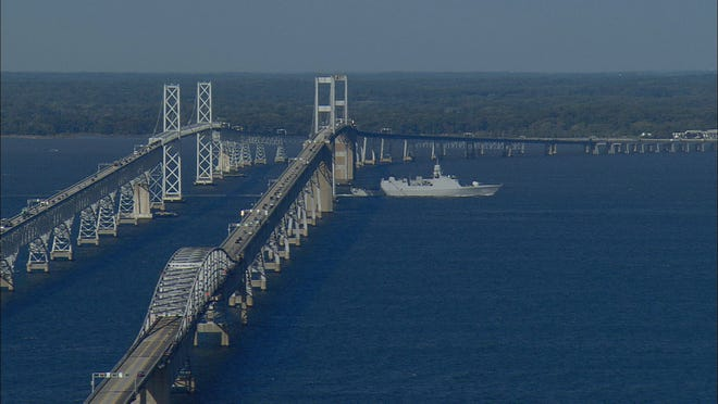 Gov. Larry Hogan delivered on his promise to roll back Maryland's high toll rates on Thursday, including reducing the Bay Bridge toll from $6 to $4.
