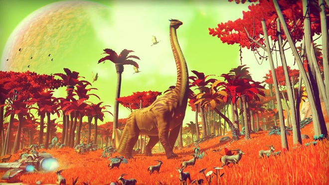 """""""No Man's Sky"""" is the latest offering from Hello Games."""