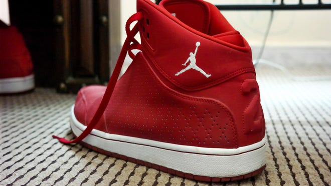 The Jordan Brand stretches from shoes to clothing to gear, including bags, backpacks and hats.