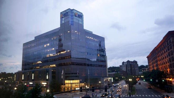 The IGT building in downtown Providence.