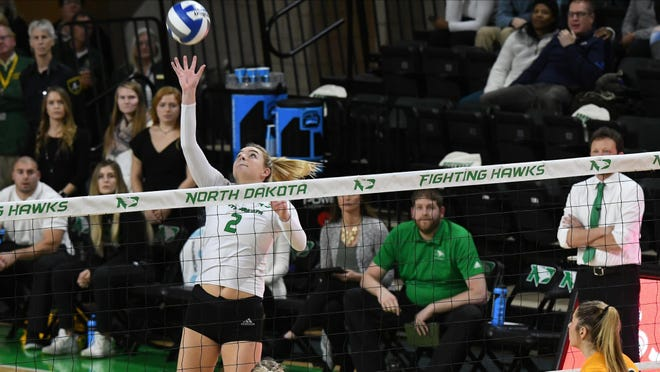 Brynn Nieukirk departed the University of North Dakota volleyball team after it was revealed she appeared in a video in which she used a racial slur. The Washington Community High School graduate stated the slur was part of a song and that a video of her and a teammate singing it was taken out of context.