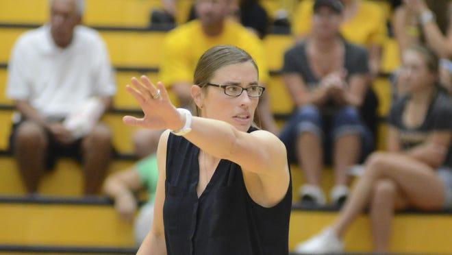Bradley volleyball coach Carol Price-Turok.