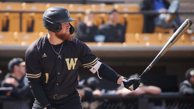 Western Michigan baseball player Blake Dunn has been one of the top college outfielders.