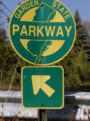 An accident with injuries on the Garden State Parkway is causing traffic delays for the Friday evening rush hour, the state Department of Transportation said on its website.