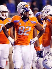 Then-Boise State NCAA college football player Samuel