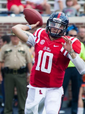 Chad Kelly Saturday could be another opportunity for quarterback Chad Kelly and the Ole Miss offense to up their season scoring averages.