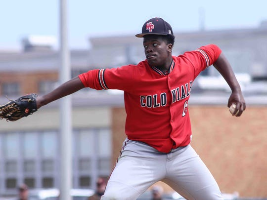 William Penn High's Frank Burton III started playing baseball at the age of 5. Now, he says he enjoys football more.