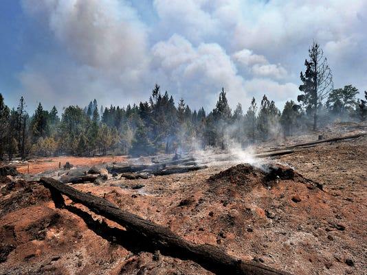 Oregon Wildfires_Davi