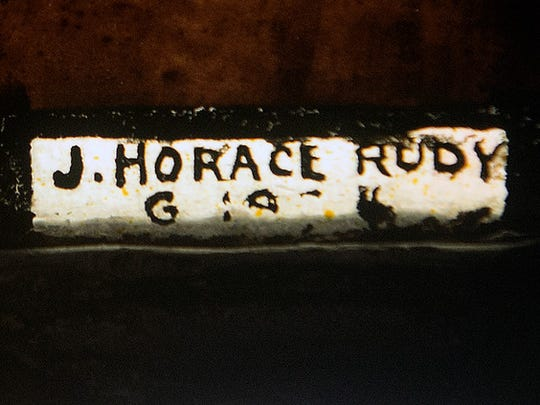 A signature by J. Horace Rudy with a date of 1924 can be seen on some of the panels. Paul Kuehnel - York Daily Record/ Sunday News