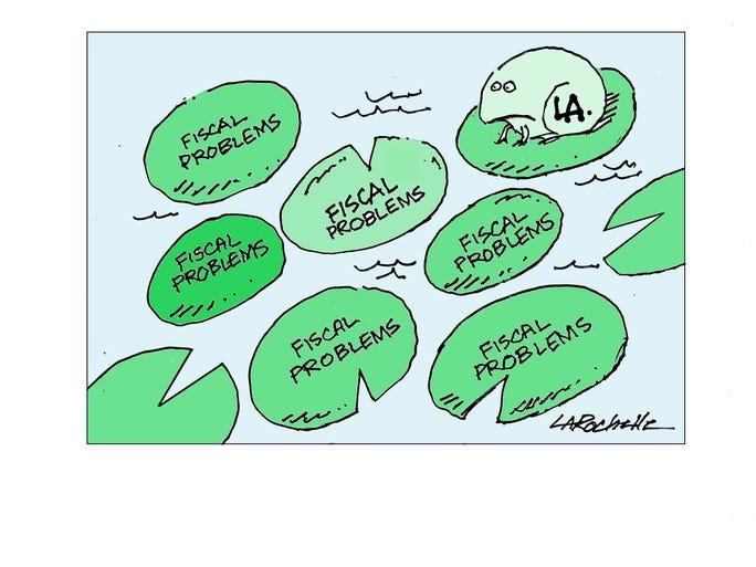 Cartoon by Maurice LaRochelle