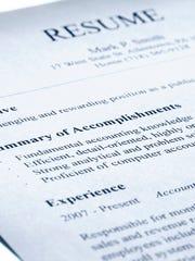 accountant's resume
