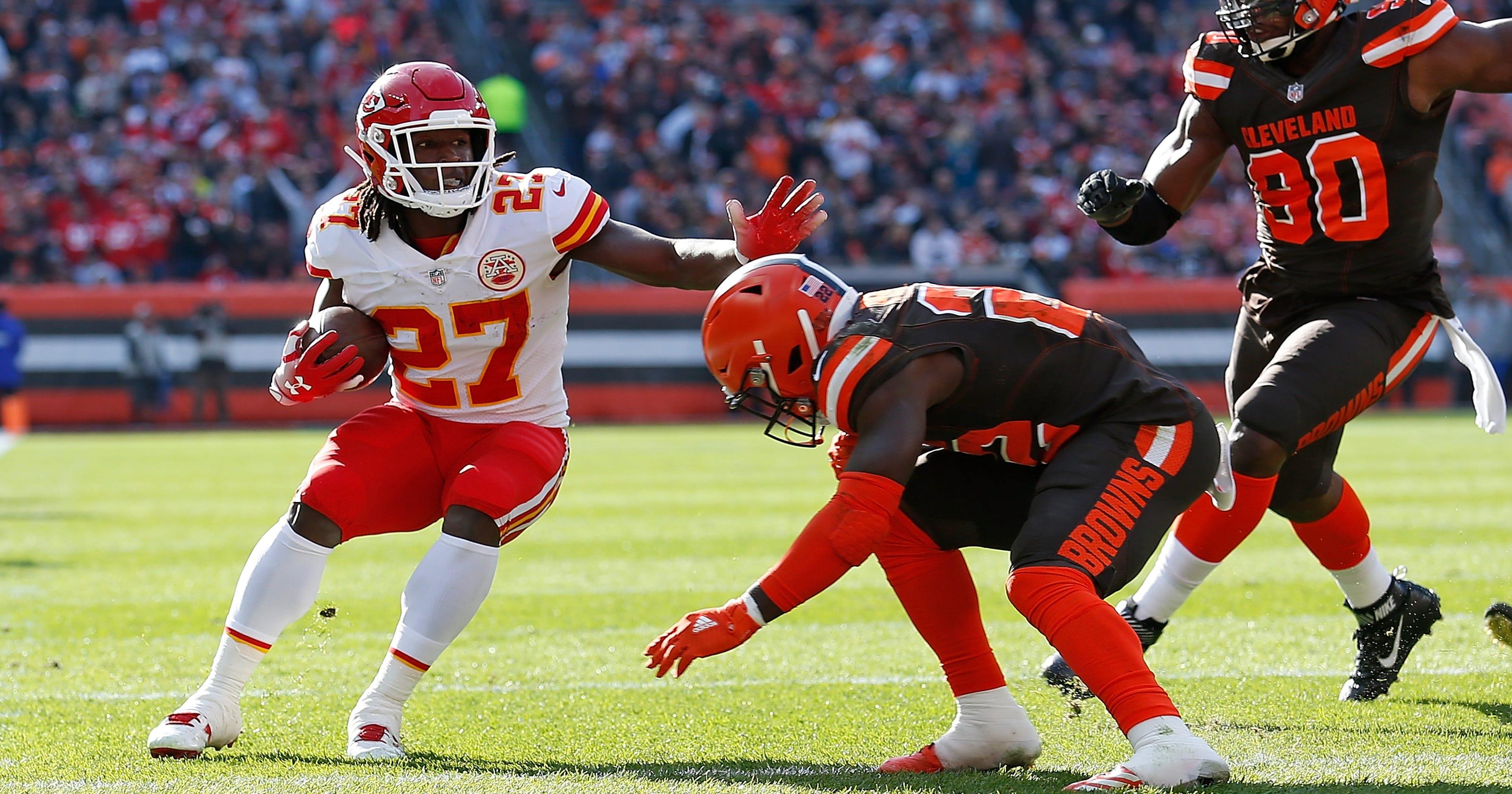 Kareem Hunt Reactions Cleveland Browns Sign Ex Chiefs Running Back