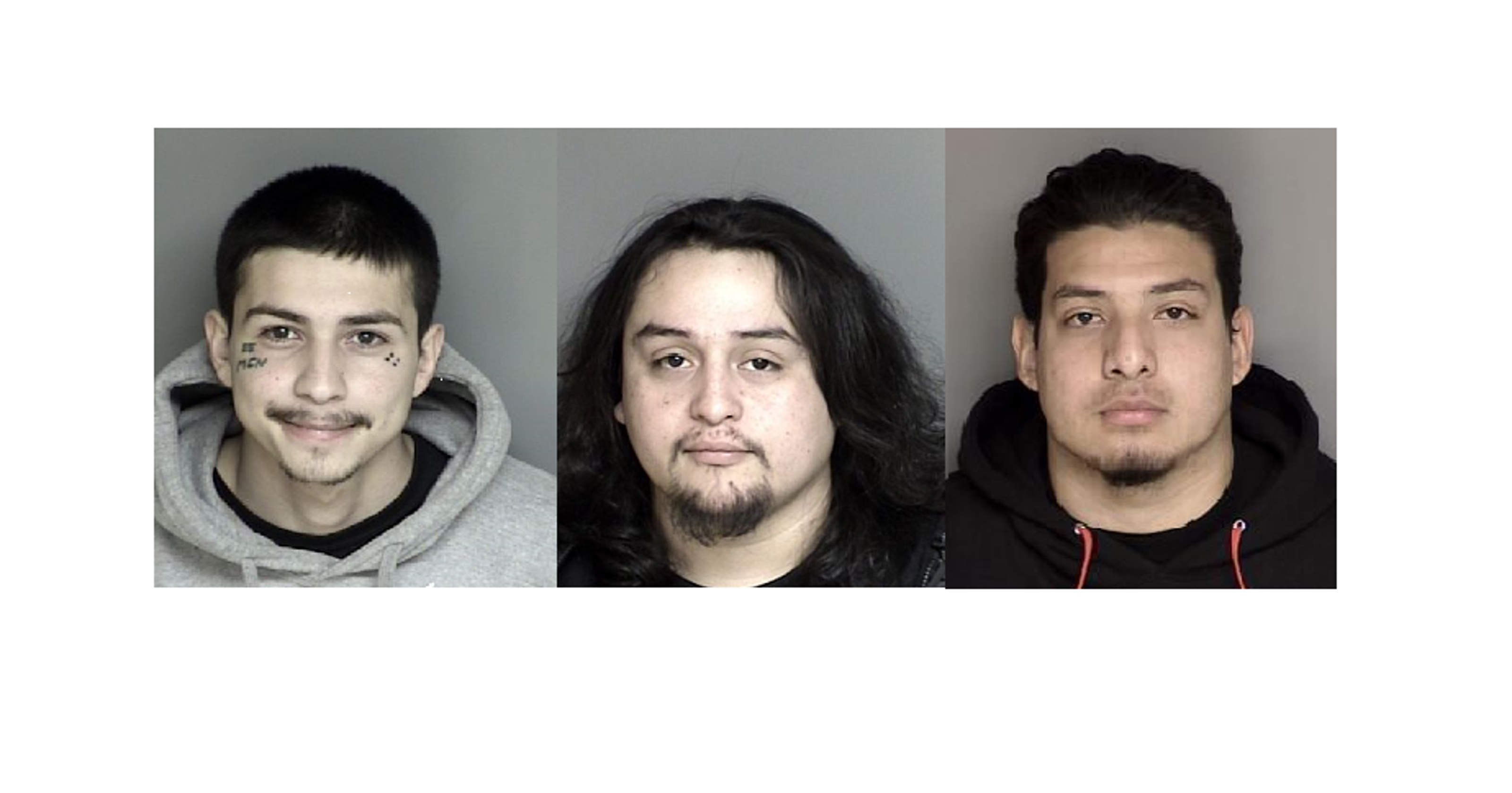 Salinas police: Three arrested after loaded guns found in car