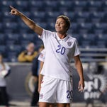 Abby Wambach led a lawsuit by top female soccer players against FIFA for having this summer's Women's World Cup on turf and not grass.
