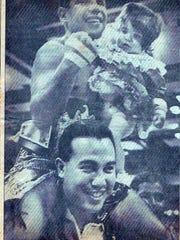 An El Paso Times photo from Feb. 4, 1991 shows Fernie
