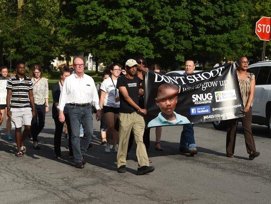 SNUG Poughkeepsie march