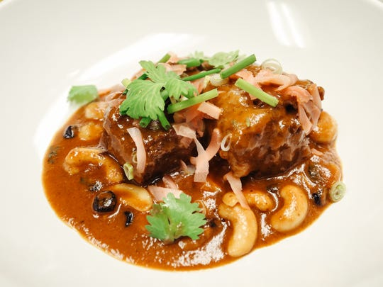 Braised oxtail from Conserva, which opens in the former Torino space in Ferndale December 10.