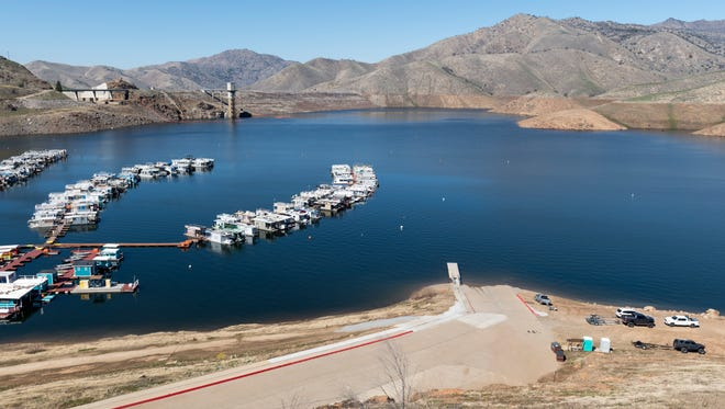 A 5-year-old child died after going overboard while on his family's houseboat, Tulare County sheriff's deputies said.