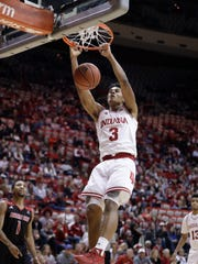 Indiana's Justin Smith will see more playing time with