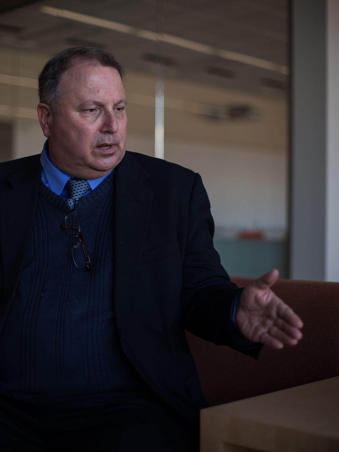 Attorney Craig Kabatchnick speaks to The Spectrum's