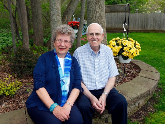 Ralph and Sandy Zecchino, seen here at their Greece home, are retiring from the Greece Choral Society.