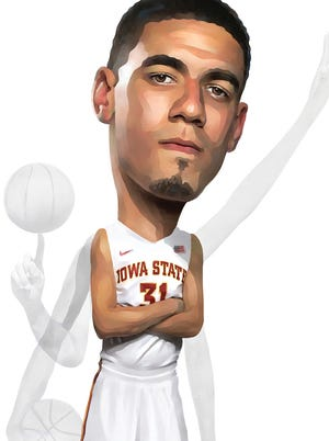 Illustration of Georges Niang