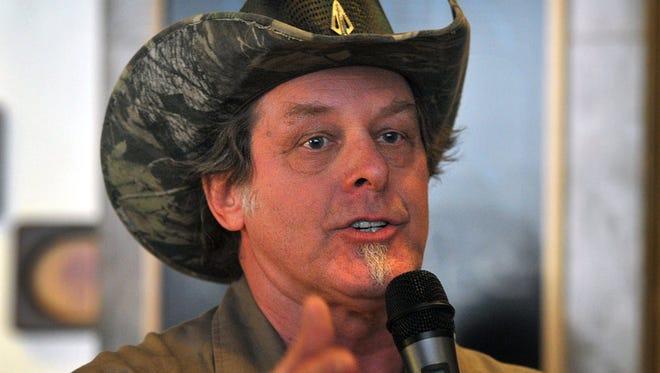 Longtime rocker Ted Nugent