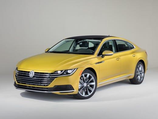 Chicago Auto Show Volkswagen Reveals 2019 Arteon Mid Size Car To