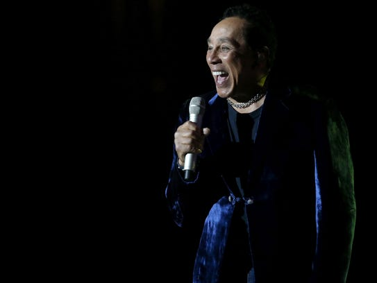 Smokey Robinson performs July 14 in Verona.