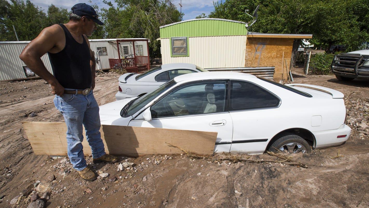 July 2015 Wickenburg Flooding