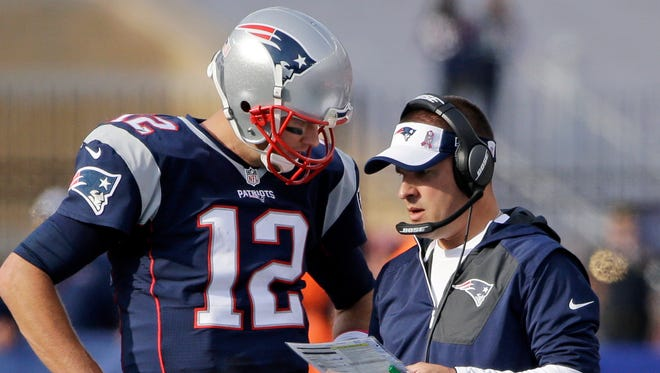 Patriots QB Tom Brady has enjoyed some great seasons with offensive coordinator Josh McDaniels.