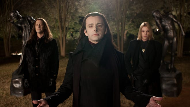 Michael Sheen had it rough dealing with bad contacts as Aro as he says on the extras of  'TWILIGHT FOREVER: THE COMPLETE SAGA.'   star in THE TWILIGHT SAGA: BREAKING DAWN-PART 2    Ph: Andrew Cooper, SMPSP  © 2011 Summit Entertainment, LLC.  All rights reserved.