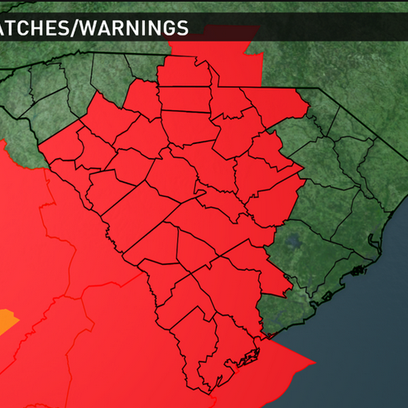 A tornado watch is in effect for all of the Midlands