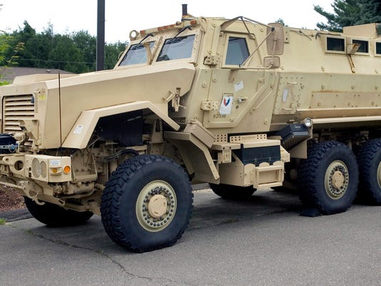 Your Say AP POLICE MILITARIZATION A FILE USA CT