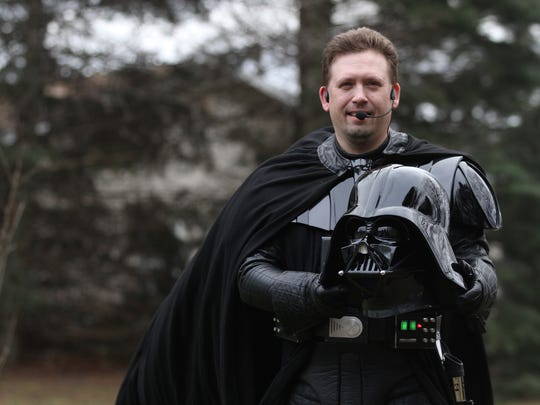 "Jeff Hubbard of Williamson collects ""Star Wars"" memorabilia"