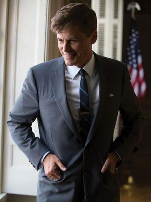 Rob Lowe plays President John F. Kennedy in 'Killing Kennedy.'