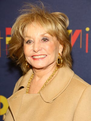 Barbara Walters attends 'After Midnight' Broadway opening night at Brooks Atkinson Theatre on Nov. 3, 2013 in New York.