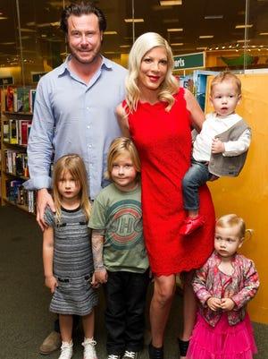 The family McDermott last month.