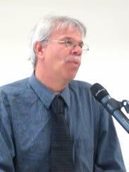Tim Smith, Adams County historian, was the speaker