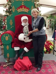 Yes, even Santa got involved in the Ms. Cheap Penny