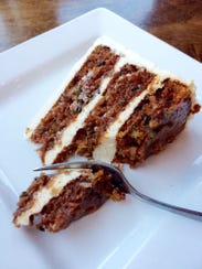 Southside Grille: Carrot cake.