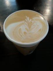 Amores latte at Yeast Nashville.
