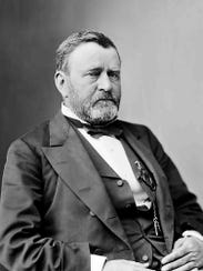 President Ulysses S. Grant. The 18th president of the