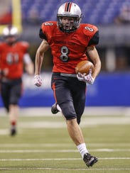 Brad Bacon and Cardinal Ritter face Indian Creek in