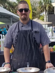 Chef Cody Harvey of The Gafford recently competed in Stuart Chopped! at the ArtsFest in Stuart.