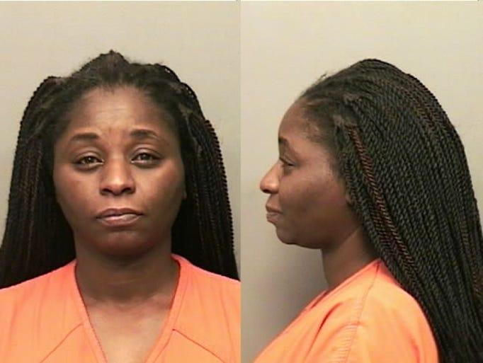 Onicki Whittington, of Clarksville, Tn., Domestic assault.