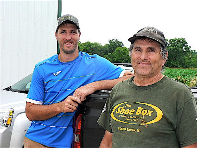 Mike Wilkinson (left) and his father Kendall own the